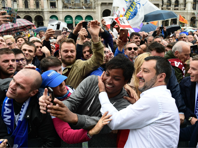 Salvini Pledges to 'Free Europe from Illegal Occupation Organised by Brussels' at Populist Rally