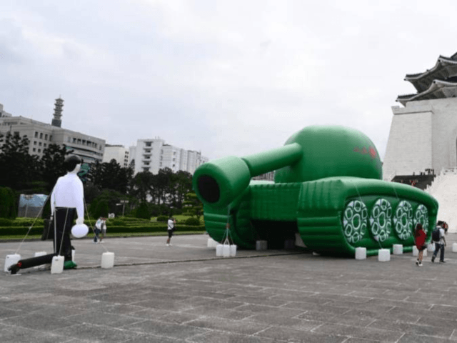 Taiwanese Artist Creates 'Tank Man' Balloon for 30th Anniversary of Tiananmen Square