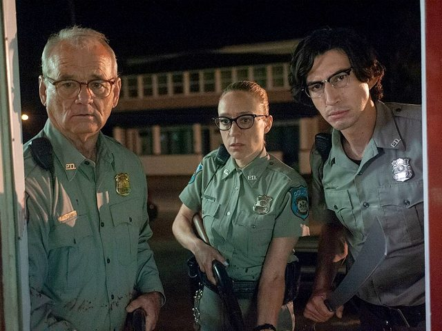 Bill Murray, Chloë Sevigny, and Adam Driver in The Dead Don't Die (Eleven Productions, 2019)