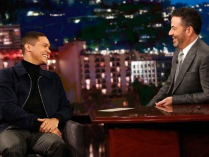 Watch: Trevor Noah Admits to Jimmy Kimmel that Donald Trump the First President to 'Actually Deliver' on Campaign Promises