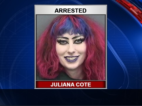 "A 26-year-old Florida woman was arrested Friday and is accused of threatening ""to shoot everyone"" at a Tampa-area elementary school."