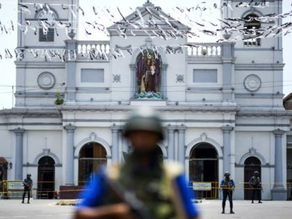 St Anthony's Shrine in Colombo was one of the three churches attacked by the suicide bombers