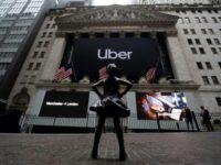 Uber skids in milestone Wall Street debut