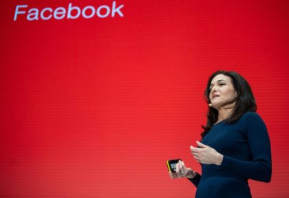 Facebook breakup could boost China rivals: Sandberg