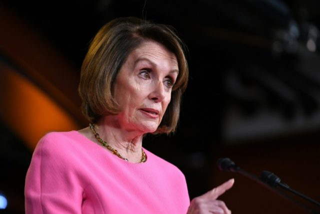 House Speaker Nancy Pelosi told reporters on May 23, 2019 that her Democratic caucus was not currently prepared to launch impeachment proceedings against US President Donald Trump