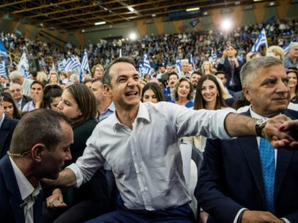 New Democracy party leader Kyriakos Mitsotakis is in pole position to become Greek prime minister