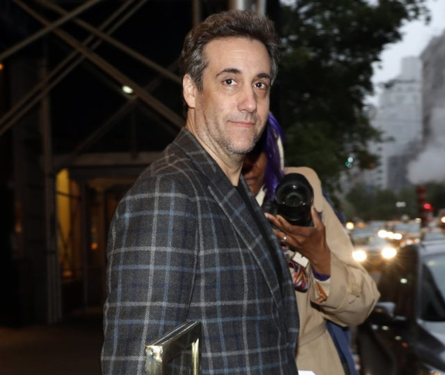 Michael Cohen, on way to prison, takes a last swing at Trump