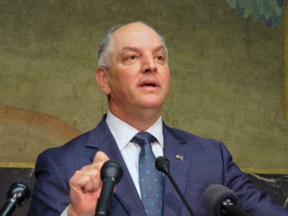 Louisiana governor breaks with Democratic Party on abortion