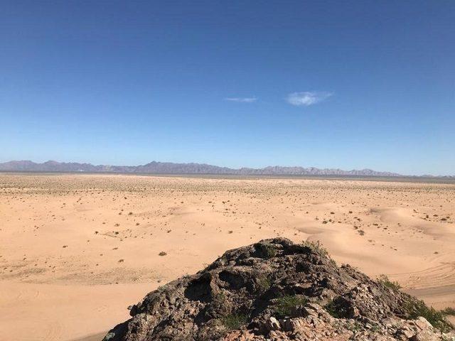 Barry M. Goldwater Bombing Range (Photo: U.S. Border Patrol/Yuma Sector)