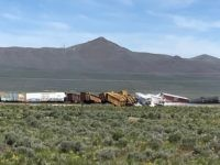 Train Transporting Bombs, Hazardous Material Derails in Nevada