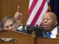 House Oversight and Reform Committee Chair Elijah Cummings, D-Md., right, speaks as he gives closing remarks with Rep. Jim Jordan, R-Ohio, the ranking member, at left, as the hearing for Michael Cohen, President Donald Trump's former lawyer, at the House Oversight and Reform Committee concludes, on Capitol Hill, Wednesday, Feb. …