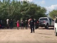Del Rio Sector Border Patrol agents apprehend a group of 34 African migrants near Eagle Pass, Texas. (Photo: U.S. Border Patrol/Del Rio Sector)