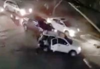 Watch: Cartel Gunmen in Cancún Ambush Mexican State Police