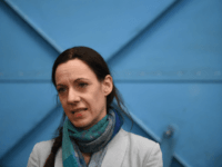 British journalist Annunziata Rees-Mogg attends the launch of The Brexit Party's European Parliament election campaign in Coventry, central England on April 12, 2019. - UK nationalist Nigel Farage launched his Brexit Party's campaign for the European Parliament elections -- a vote Britain was never meant to take part in that …