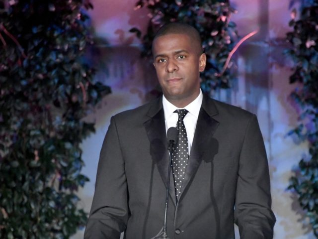 BEVERLY HILLS, CA - MARCH 22: Bakari Sellers speaks onstage at UCLA's 2018 Institute of the Environment and Sustainability Gala on March 22, 2018 in Beverly Hills, California. (Photo by Neilson Barnard/Getty Images)