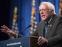 Bernie Sanders democratic socialism speech (Sarah Silbiger / Getty)