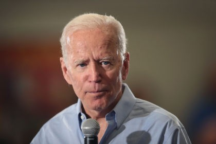 CLINTON, IOWA - JUNE 12: Democratic presidential candidate and former U.S. Vice President Joe Biden speaks to guests during a campaign stop at Clinton Community College on June 12, 2019 in Clinton, Iowa. The stop was part of a two-day visit to the state. (Photo by Scott Olson/Getty Images)