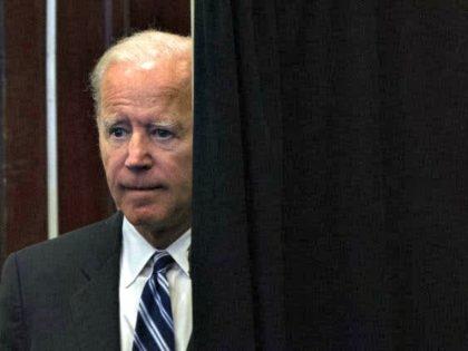 Biden Partially Seen
