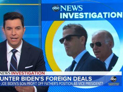 Watch: ABC's 'Good Morning America' Presents Deep Dive into Hunter Biden's Ukraine, China Dealings