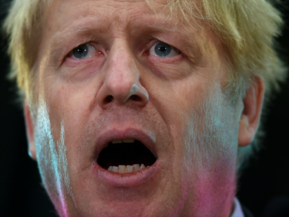 Britain's former Foreign Secretary Boris Johnson speaks at an event at JCB in Rocester, central England, on January 18, 2019. - British Prime Minister Theresa May scrambled to put together a new Brexit strategy after MPs rejected her EU divorce deal, and insisted she could not rule out a potentially …