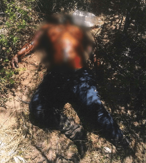 Brooks County officials recover the body of an unknown migrant female on a ranch 80 miles from the Texas-Mexico Border. (Photo: Brooks County Sheriff's Office/Deputy Samuel Rosas)