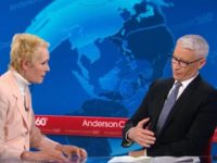 Watch: Anderson Cooper Abruptly Goes to Commercial