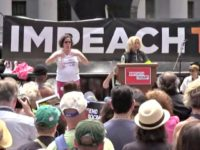 Rep. Carolyn Maloney Joins Impeach Donald Trump Call at New York Rally