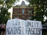 College protest against fascism