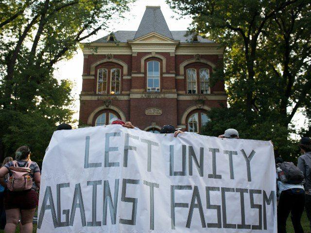 College protest against fascism