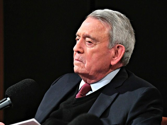 WASHINGTON, DC - MARCH 23: Dan Rather (pictured) hosts a SiriusXM Roundtable Special Event with Parkland, Florida, Marjory Stoneman Douglas High School Students and activists Emma Gonzalez, David Hogg, Cameron Kasky, Alex Wind , and Jaclyn Corin at SiriusXM Studio on March 23, 2018 in Washington, DC. (Photo by Larry …