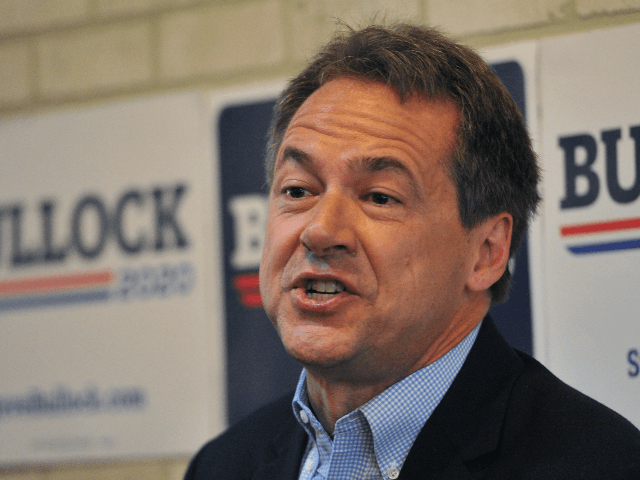 Democratic presidential candidate Montana Gov. Steve Bullock speaks during a campaign stop at a coffee shop on May 17, 2019 in Newton, Iowa. Bullock is doing a multi-day swing of Iowa on his first visit to the state as a presidential candidate. (Photo by Steve Pope/Getty Images)