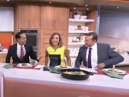Julian Castro on Despierta America. Democrat presidential candidates are jumping on Spanish language television for cooking and taco segments ahead of their first debates this week in Miami, Florida.