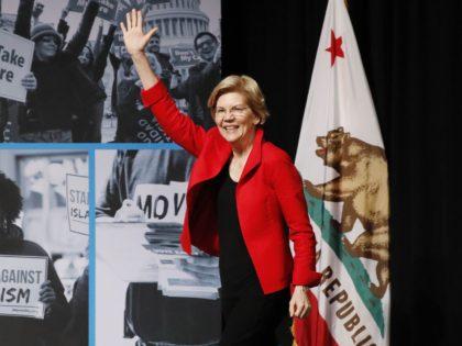Elizabeth Warren California (Kimberly White / Getty for MoveOn)
