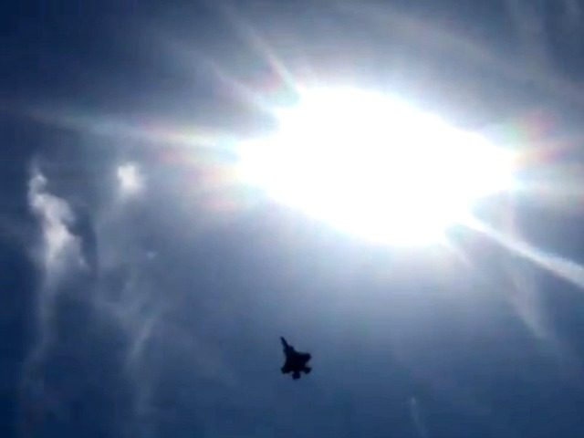 F-35 Flyby over White House