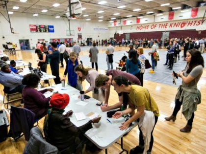 Foreign-born vote Democrat