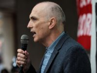 LONDON, ENGLAND - SEPTEMBER 04: Labour MP Chris Williamson speaks during a demonstration outside a meeting of the National Executive of Britain's Labour Party on September 4, 2018 in London, England. Labour's NEC meet today to vote on whether to adopt the full International Holocaust Remembrance Alliance (IHRA) definition of …
