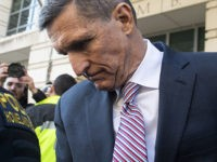 Former National Security Advisor General Michael Flynn leaves after the delay in his sentencing hearing at US District Court in Washington, DC, December 18, 2018. - President Donald Trump's former national security chief Michael Flynn received a postponement of his sentencing after an angry judge threatened to give him a …