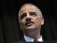 NEW YORK, NY - APRIL 3: Former U.S. Attorney General Eric Holder speaks at the National Action Network's annual convention, April 3, 2019 in New York City. A dozen 2020 Democratic presidential candidates will speak at the organization's convention this week. Founded by Rev. Al Sharpton in 1991, the National …