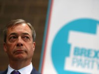 COVENTRY, ENGLAND - APRIL 12: Nigel Farage during the launch of the Brexit Party at BG Penny & Co on April 12, 2019 in Coventry, England. Former UKIP leader Nigel Farage has launched the Brexit Party ahead of the European Parliamentary elections, which will take place in May. The launch …
