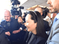 Huawei Chief Financial Officer, Meng Wanzhou, leaves British Columbia Supreme Court in Vancouver, on May 8, 2019. - Meng, whose Vancouver arrest on a US warrant triggered a diplomatic row between Ottawa and Beijing, was to appear in court to fight for her release. Canada's justice department said the court …