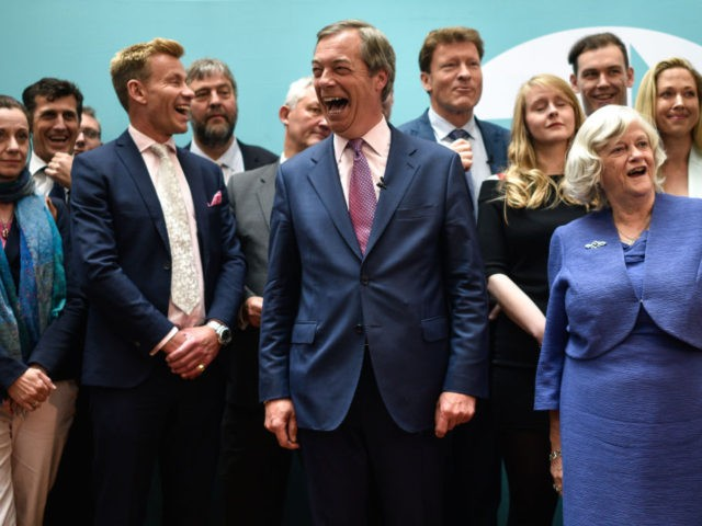Brexit Party Maintains Commanding Lead in Westminster Polls