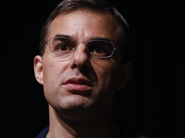 GRAND RAPIDS, MI - MAY 28: U.S. Rep. Justin Amash (R-MI) holds a Town Hall Meeting on May 28, 2019 in Grand Rapids, Michigan. Amash was the first Republican member of Congress to say that President Donald Trump engaged in impeachable conduct. (Photo by Bill Pugliano/Getty Images)