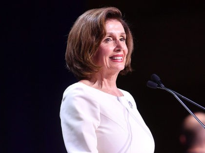 US Speaker of the House Nancy Pelosi speaks during the the 2019 California Democratic Party State Convention at Moscone Center in San Francisco on June 1, 2019. (Photo by Josh Edelson / AFP) (Photo credit should read JOSH EDELSON/AFP/Getty Images)