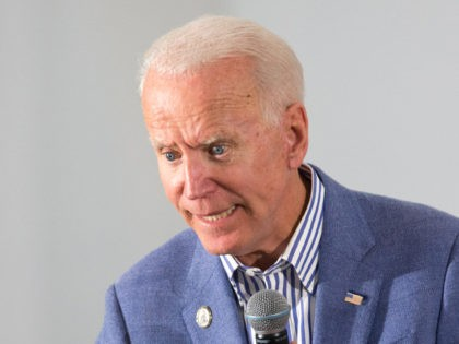 CONCORD, NH - JUNE 04: Former Vice President and Democratic presidential candidate Joe Biden holds a campaign event at the IBEW Local 490 on June 4, 2019 in Concord, New Hampshire. (Photo by Scott Eisen/Getty Images)