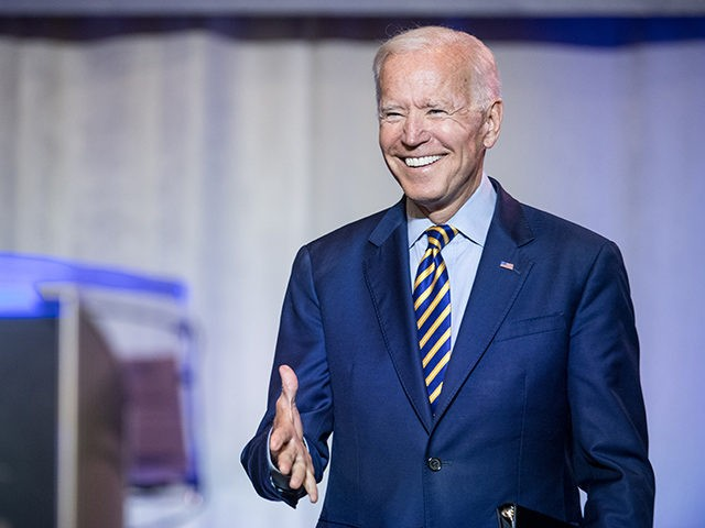COLUMBIA, SC - JUNE 22: Democratic presidential candidate, former Vice President Joe Biden is introduced to the crowd during the 2019 South Carolina Democratic Party State Convention on June 22, 2019 in Columbia, South Carolina. Democratic presidential hopefuls are converging on South Carolina this weekend for a host of events …