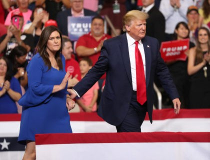 Sarah Sanders on Trump: 'He's Going to Have an Incredible Six More Years'