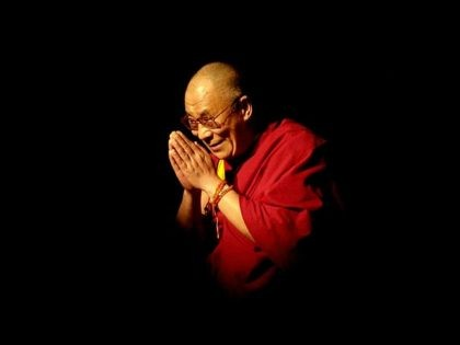 389849 01: Nobel Laureate and exiled spiritual leader of Tibet, His Holiness the 14th Dalai Lama, appears at the University of California Los Angeles (UCLA) to give a public teaching May 26, 2001 in Los Angeles, CA. Declared at age three to be the 14th reincarnated Dalai Lama, he has …