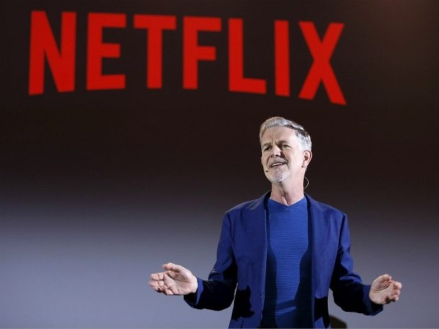 ROME, ITALY - APRIL 18: Reed Hastings attends Reed Hastings panel during Netflix 'See What's Next' event at Villa Miani on April 18, 2018 in Rome, Italy. (Photo by Ernesto S. Ruscio/Getty Images for Netflix)