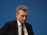 ESSEN, GERMANY - DECEMBER 06: European Union Commissioner for the Digital Economy and Society Guenther Oettinger attends the 29th federal congress of the German Christian Democrats (CDU) on December 6, 2016 in Essen, Germany. Approximately 1,000 CDU delegates will meet to debate and vote on the party's course for next …