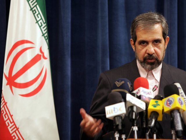 "TEHRAN, IRAN: Iran's Foreign Ministry Spokesman Hamid Reza Asefi briefs the media 09 October 2005 in Tehran. Asefi hit back at US allegations that his country is working on nuclear warhead designs, dismissing the latest claims as a ""lie"". Diplomats and analysts at the headquarters of the International Atomic Energy …"